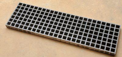 10.75 X 36.25 fiberglass grate