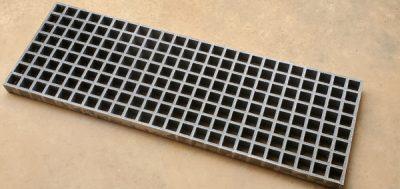 12.25 X 36.25 fiberglass grate